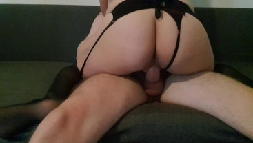 Submissive Girl Takes it Hard