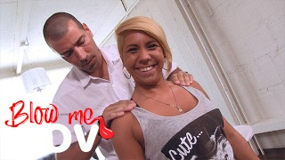 Blow me POV – This Nasty Masseur Gets BJs from Cute Customers