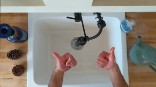 Described Video - Polite Washing of the Hands by Trip Richards