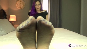 Cum On My Pantyhose Feet