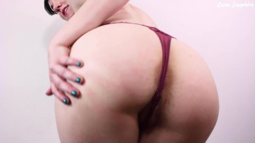 Hairy Ass Worship for Losers! Big Butt Femdom POV Humiliation