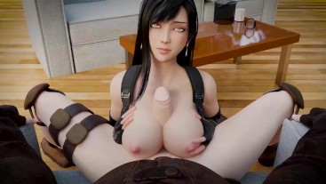 Tifa Titfuck from Final Fantasy
