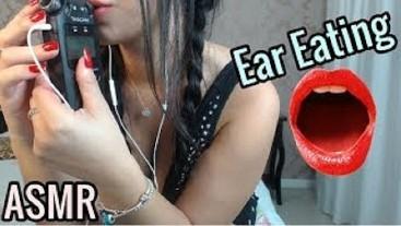 SFW ASMR Ear Eating COMENDO SUA ORELHA ~