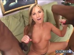 Flower Tucci BBC Double Penetration with Squirting!
