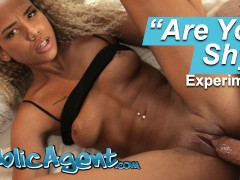 Public Agent Sexy Dutch Ebony Romy Indy POV Sex Video