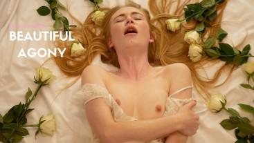 Beautiful Agony: Blonde Teen Masturbates To Orgasm