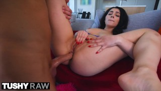 TUSHYRAW Valentina Opens Her Ass Wide For Hard Cock