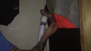 Fit tradie builder Gloryhole