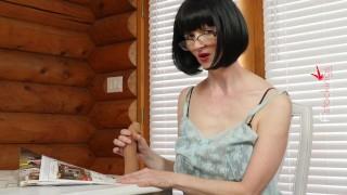 FFstockings- Cum in my throat with Julia the Naughty Teacher