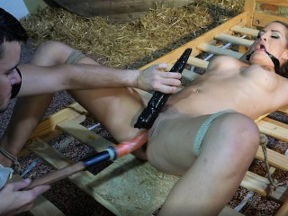 Nicole Vice Shakes and Drools when Vibed and Dildoed by Submissed