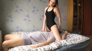 The bad boy was punished - I fucked his face with my pussy