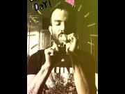 JUSTforFANS - Ethan Haze - Fumando Cristal Celebrando Mi Cumpleaños #30 !