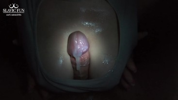 I Made Him Cum by Slapping His Cock with My Boobs - Slavic Fun #53