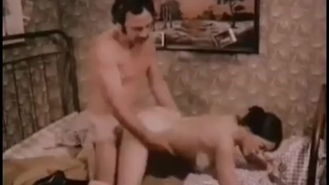 Vintage wardrobe trunks - Janine via 1976 classic porn part 2