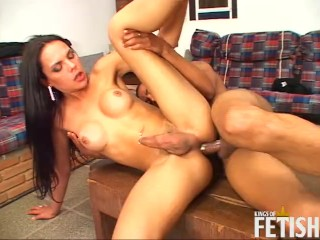 Cock enjoys anal sex with...