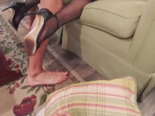 Dirty Cheater Husband Shamed & Cucked by Wife and His BOSS – FULL SCENE