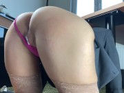 creampie cumshot compilation sexy business woman before work