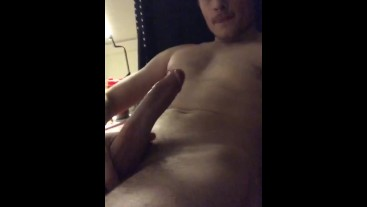 Straight guy SOLO jerking off w/ ass play