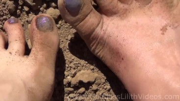 Goddess Lilith & Queen Kitty - Dirty Feet Adventure