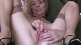 Blowjob And Cum For Granny's Face