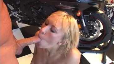 Big Titty Blonde Stripper fucks MILF Hunter-Trailer full scene in profile