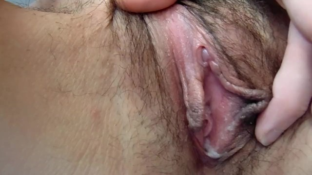 Clitoris smegma Huge clit-after orgasm