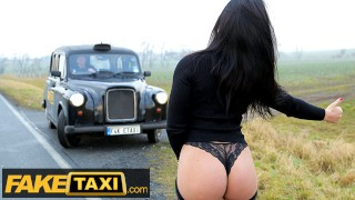 Fake Taxi Go Go dancer give a Private VIP dance