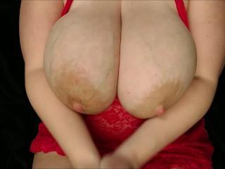 Tits bbw taking big dildo...