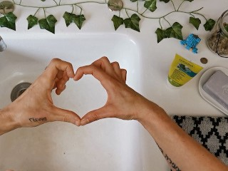 Soap/verified amateurs/protect yourself your wash love