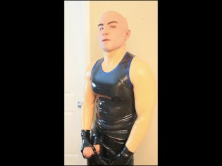 Transgender/animus/silicone fucking shining up bodysuit