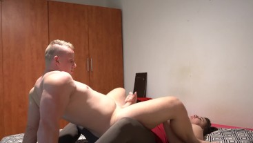 Pegging - He fucks my Pussy then I Strapon Fuck His Ass!