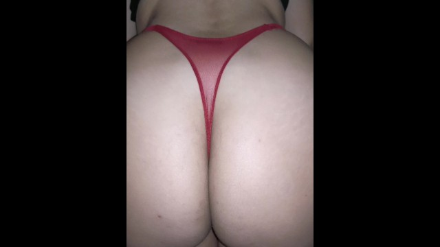 Hot babes in sexy thong panties Sexy girlfriend with a big ass, trying on the hottest thongs