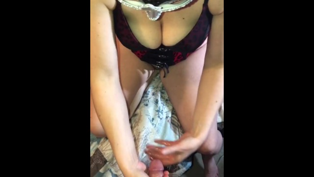 Put sex up Milfs nightguard is removed from mouth,cum filled put back to cum kiss.