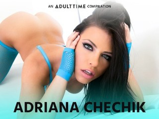 ADULT TIME Adriana Chechik Lesbian Squirting, Fisting & Licking Comp!