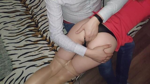 Gonzo galley sex Slap my teen girlfriend ass. vibrator in hot butt. gonzo. 60fps. 1080.