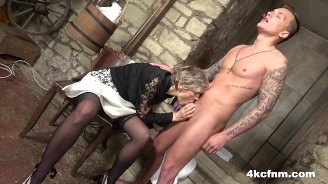 Dungeon sex master - Cfnm - granny the dungeon master