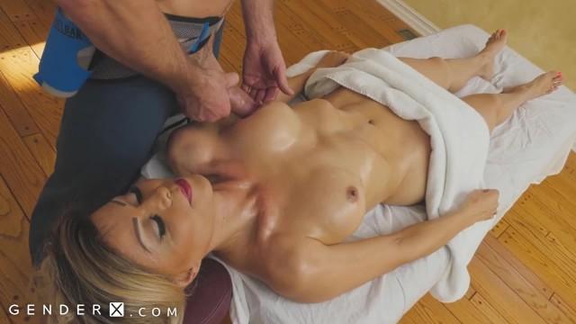 Trans gender porn - Genderx - mature ts woman gets erotic massage
