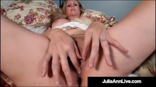 Beautiful World Famous Milf Julia Ann Gets Mega Dick Drilled
