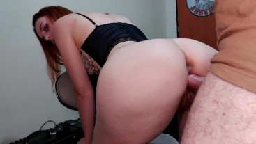 Fuking the little redhead