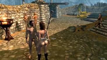 Skyrim-Hard Fucking in Bandit Camp, Episode 4