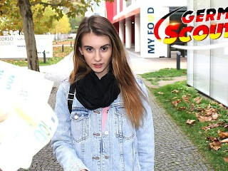 HOT German BRUNETTES picked up and fucked in public&excl