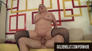 Golden Slut – Gorgeous Busty Grandma Cala Craves Compilation Part 3