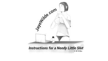 Instructions for a Needy Little Slut