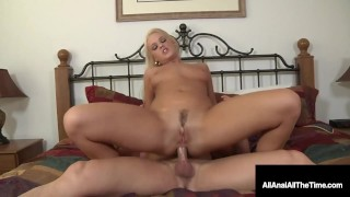 Blonde Roxy Raye Butt Fucked In Tight Asshole!