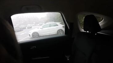 Risky Public Car Park Anal / All Holes Fuck