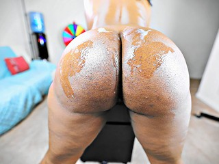 MILF Ass Covered in His White Cum (4K)