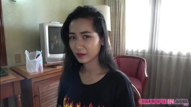 Japanese man creampies Thai girl in uncensored sex video