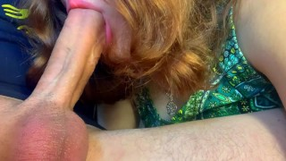I like to feel Pulsating Cock in My Mouth Suck Big Dick on Camera!