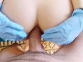 My 18 year old pussy squirts a lot before I get fucked Painal.  part1
