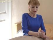 Sexy Natural Long White Nails HandJob - Huge CumShot _ LiLusHandJobs